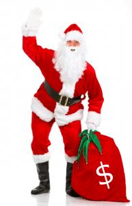 Santa Claus Brings More Sales for Christmas