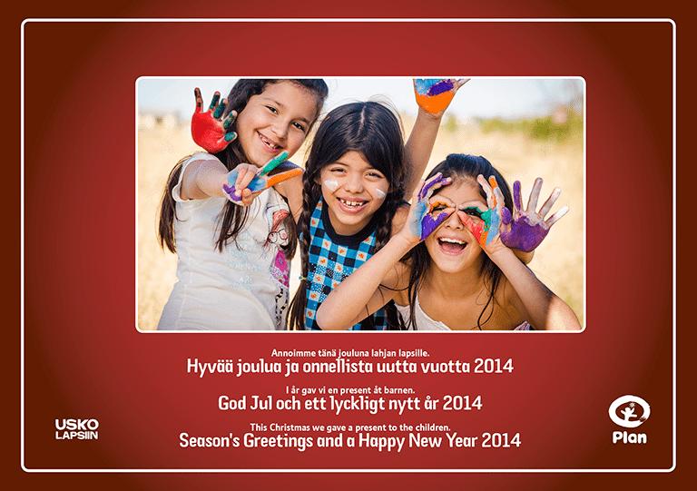 Hyvää joulua ja onnellista uutta vuotta 2014