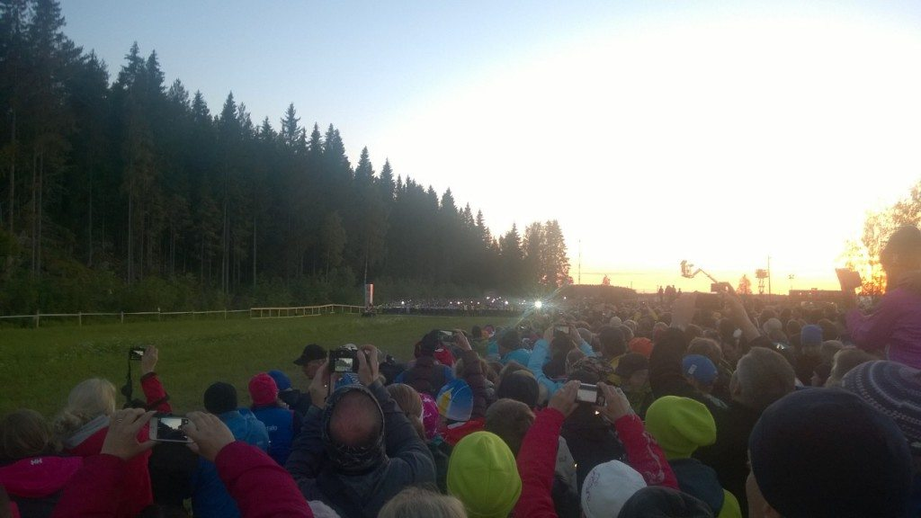 Excitement was in the air when Jukola Relay started