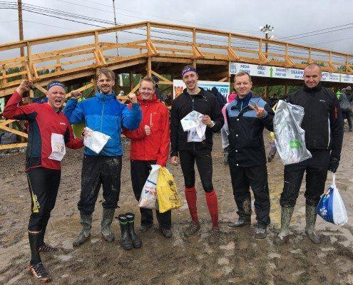 Cloudrivenin Jukola-joukkue vuosimallia 2016