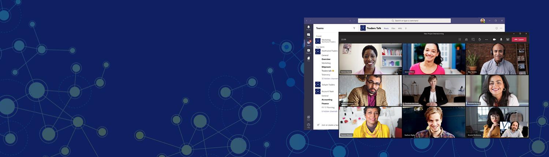 Cloudriven menestystarina Microsoft Teams ja Power Apps Hero Pic